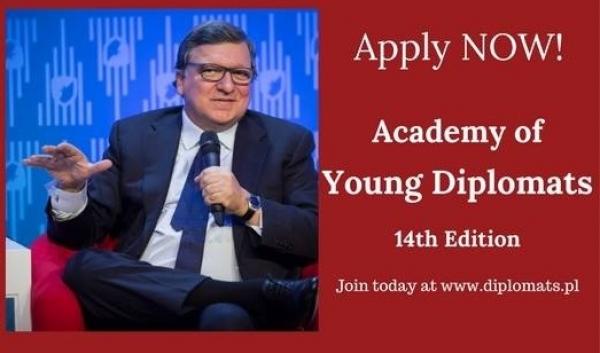 Rekrutacja do wyjątkowego programu Akademia Młodych Dyplomatów trwa!