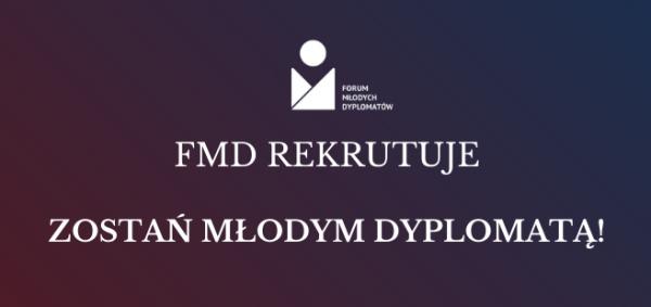 Rekrutacja do FMD już otwarta!