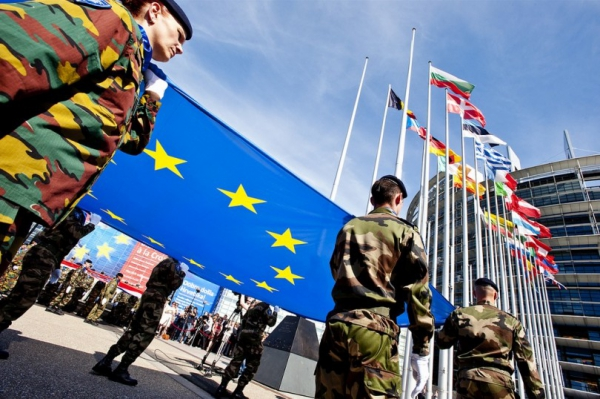 European troops