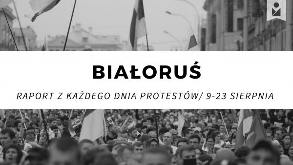 Sytuacja na Białorusi po wyborach prezydenckich w 2020 roku