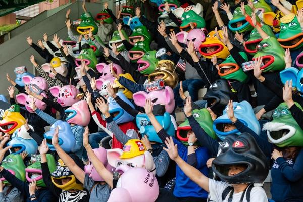 Rok protestóww Hongkongucz. 2