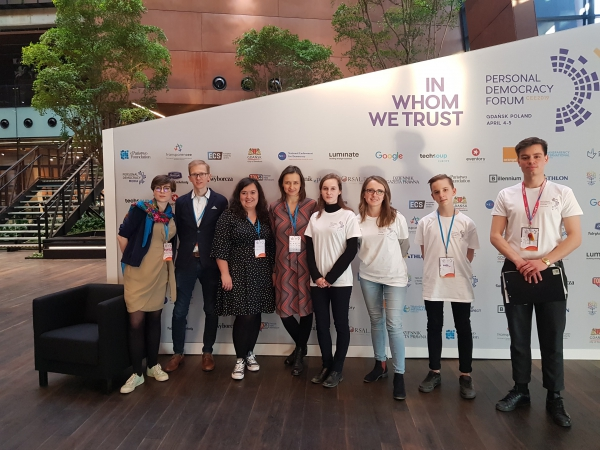 FMD Trójmiasto: Personal Democracy Forum 2019